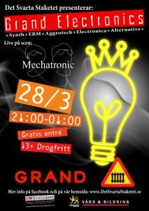 Grand Electronics den 28 Mars